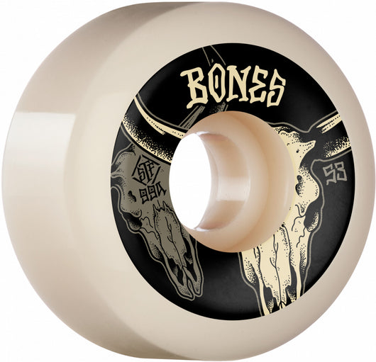 Bones STF Desert Horns 53mm V5 Sidecut 99a Skateboard Wheels