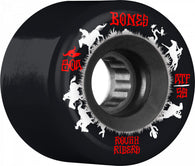 BONES ATF Rough Rider Wranglers 59mm 80a Black Skateboard Wheels
