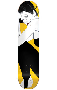 Darkstar Full Patrick Nagel HYB  Yellow Skateboard Deck