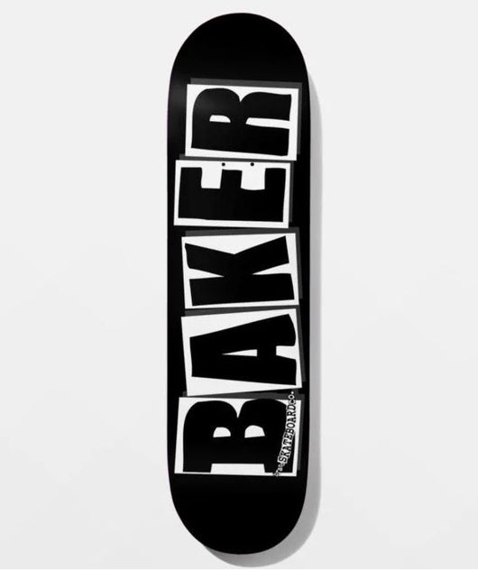 Baker Team Brand Logo Black/White 8