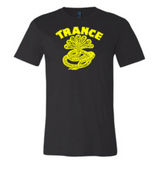 "Trance Syndicate Records ""Logo"" Yellow Ink T-Shirt w/ FREE Pin"