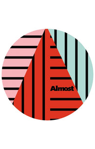 Almost Skateboards A Plus Sticker