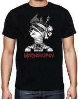 "Dazzling Killmen ""Crow Head"" T-Shirt with SKiN GRAFT back logo"