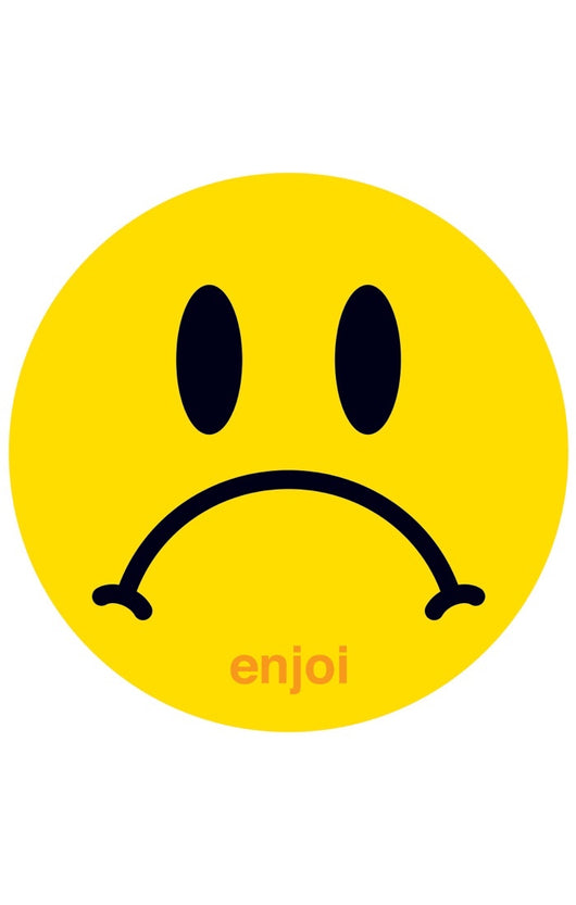 Enjoi Skateboards Frowny Face Sticker