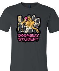 "Band T's DOOMSDAY STUDENT ""A Self-Help Tragedy"" Double-Sided T-Shirt  Artwork by Luke Boggia - TheDarkSlide"