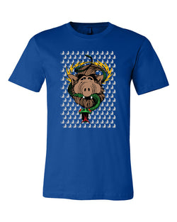 ALF Cats & Snake T-Shirt & Pin