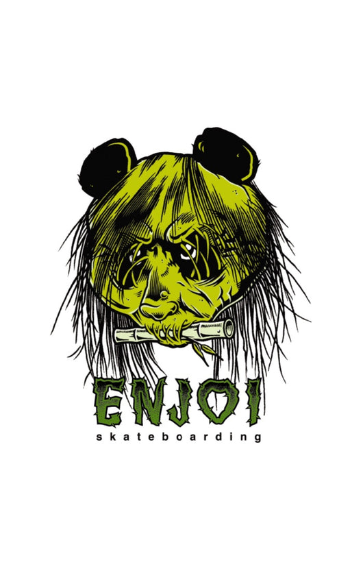 Enjoi 80's Head Skateboard Sticker