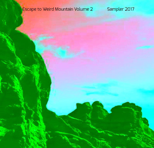 "CD's ""Escape to Weird Mountain, Volume 2"" Forbidden Place Records Compilation CD - TheDarkSlide"