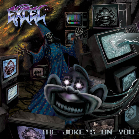 Excel ‎– The Jokes On You LP LTD Purple Vinyl