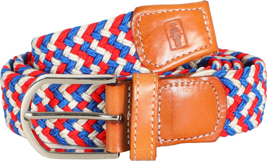 Girl Buffet Red/White/Blue Belt