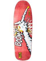 101 Natas Kaupas Challenger Red Screened Skateboard Deck