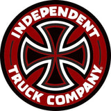"Independent Colored TC Vinyl 5"" Sticker Assorted Colors"