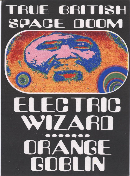 Man's Ruin Records Electric Wizard Orange Goblin Postcard Artwork By Frank Kozik