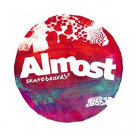 Almost Skateboards Silkscreen Sticker