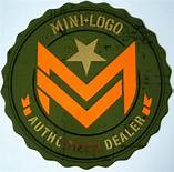 Mini Logo Authorized Dealer Two-Sided Window Sticker