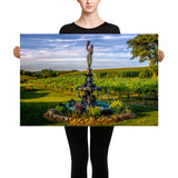 Canvas Print Wine Gardens Canvas Print by Garth Fuerste Photography - TheDarkSlide