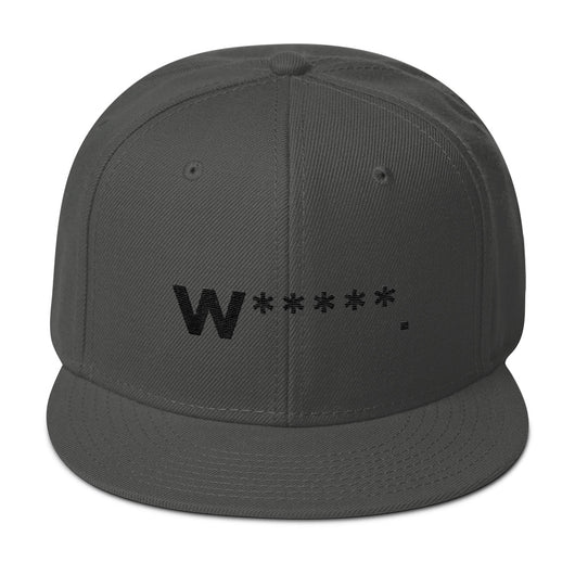 Whores Asterisk Snapback Hat