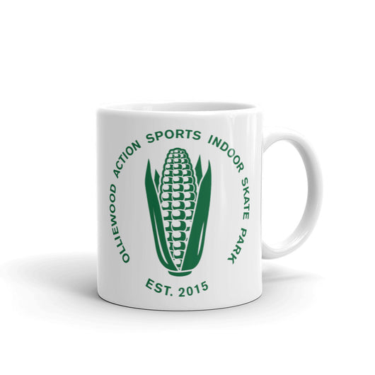 Olliewood Action Sports Corn Logo Coffee Mug