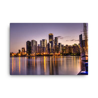 Canvas Print Navy Pier - Canvas Print by Garth Fuerste Photography - TheDarkSlide