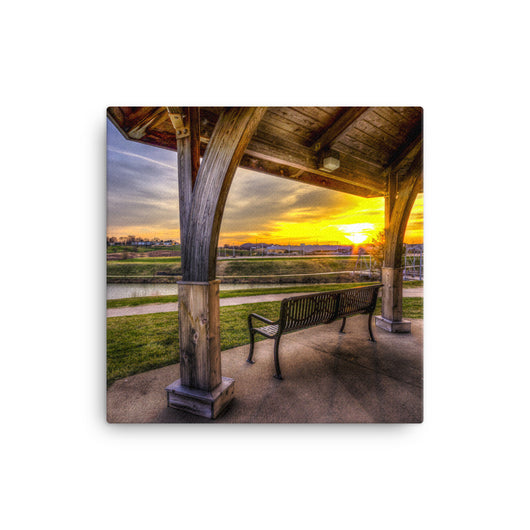 Canvas Print Bergfeld Pond - Canvas Print by Garth Fuerste Photography - TheDarkSlide