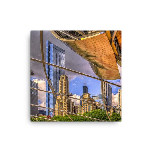 Canvas Print Grant Park Canvas Print by Garth Fuerste Photography - TheDarkSlide