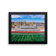 Gridiron - Framed Luster Photo by Garth Fuerste Photography