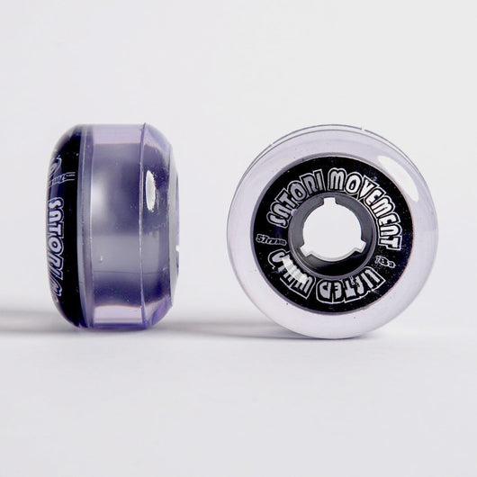 Satori Lifted Whip Cruiser 57mm 78a Clear Skateboard Wheels