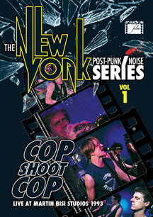 DVD's Cop Shoot Cop - The New York Post Punk/noise Series Volume 1 DVD - TheDarkSlide