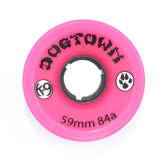 Dogtown Mini Cruiser Neon Pink 59mm 84a Skateboard Wheels