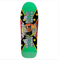 Prime x World Industries Randy Colvin Rasta Rebel Jamaican Edition Skateboard Deck