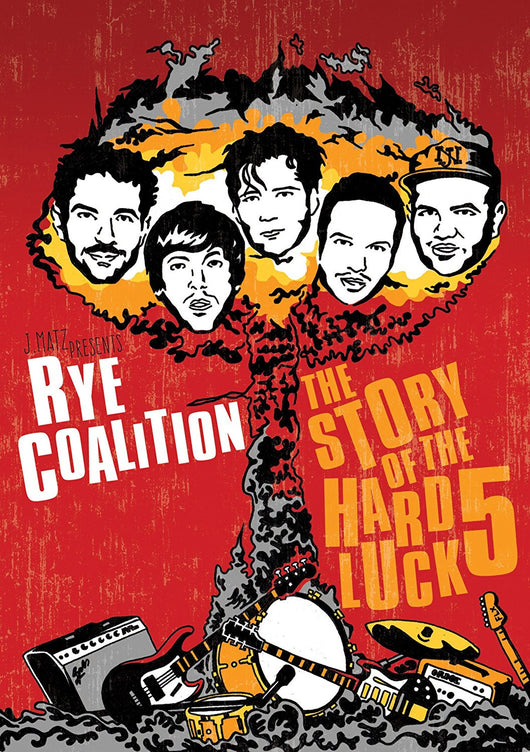 DVD Rye Coalition- The Story Of The Hard Luck 5 DVD - TheDarkSlide