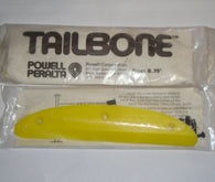 Powell Peralta Yellow 8.75 Tail Bone Skateboard Skid NOS