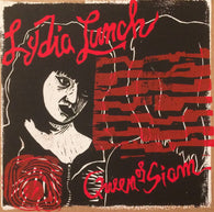 Lydia Lunch - Queen of Siam Red & Black CV LP art edition by Haze XXL