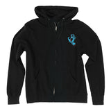 Santa Cruz Screaming Hand Zip-UP Hooded Sweatshirt