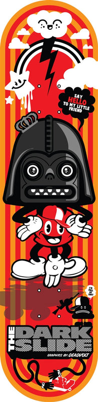 The Dark Slide Skateboards Vader Mouse Deck by DeadVolt
