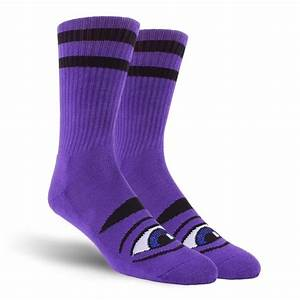 Toy Machine Sect Eye Purple Socks