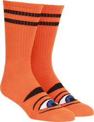 Toy Machine Sect Eye Orange Socks