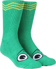 Toy Machine Turtle Boy Green Socks