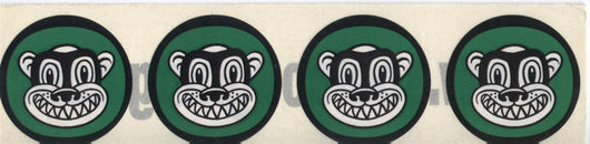 Soul Coughing El Oso Monkey Head Sticker Sheet