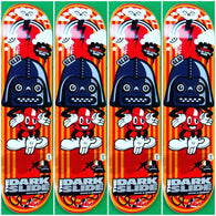 The Dark Slide Vader Mouse 90's Shape Skateboard Deck by DeadVolt *Pre-Order