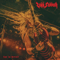 Zakk Sabbath - Live In Detroit LP White Vinyl