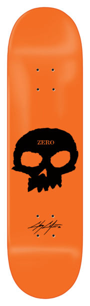 ZERO Cole Signature Skull Orange 8.5