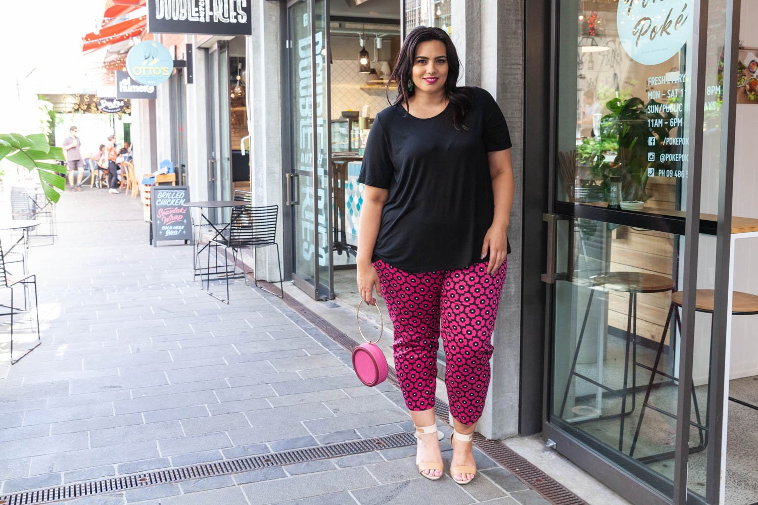 Plus size top and pants