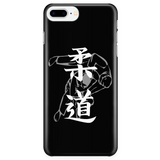 Martial Art Phone Case, black, with judo design, Apple iPhone 5 to 7 - Phone Cases - Art of KIME