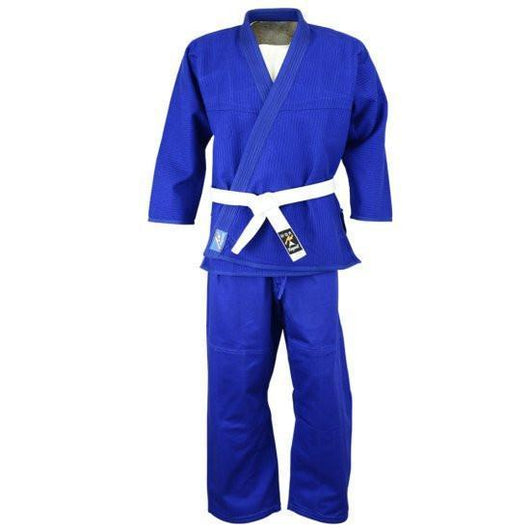 Brazilian Jiu-Jitsu, premium uniform, blue - clothing - Art of KIME
