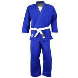 Judo premium uniform, blue - clothing - Art of KIME