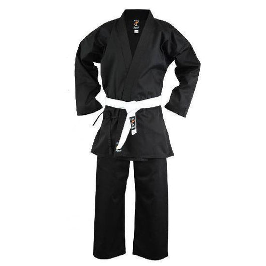 Karate premium uniform, black - clothing - Art of KIME