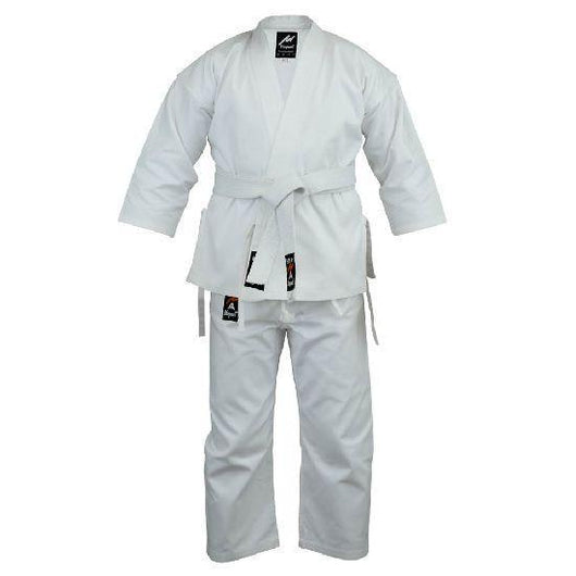 Karate premium uniform, white - clothing - Art of KIME
