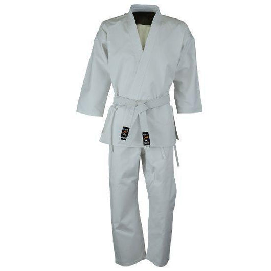 Karate student uniform, white - clothing - Art of KIME