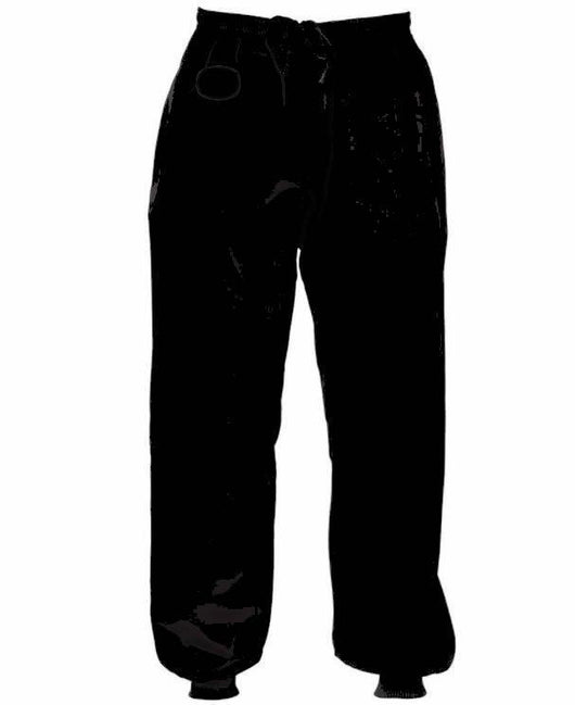 Kung Fu trousers, black - clothing - Art of KIME